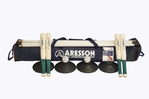 Aresson Team Builder Rounders Set - Blue/Black/Green, Adult