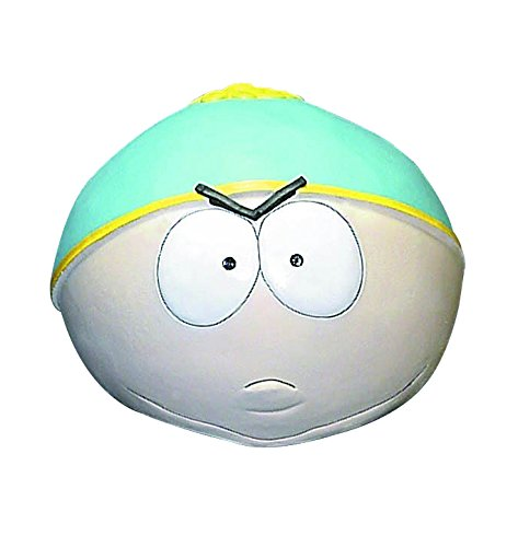 South Park Cartman Overhead Latex Mask, Multi Color, One Size