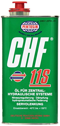 Pentosin CHF 11S Synthetic Hydraulic Fluid - 1 Liter (Power Steering Fluid Chf 11s compare prices)