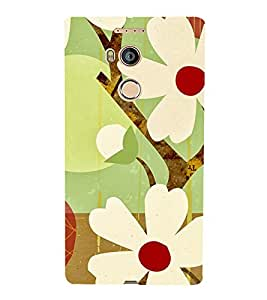 Fantastic Flowers Cute Fashion 3D Hard Polycarbonate Designer Back Case Cover for Gionee Elife E8