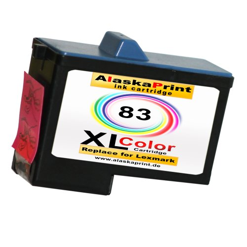 Sparangebot 1x Druckerpatrone Tintenpatrone Ersatz für Lexmark 83 XL ( 1x Color ) Ink Cartridge Original Fanaserie
