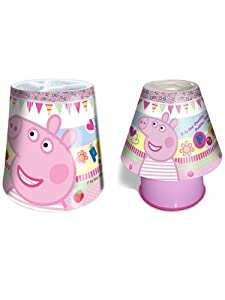 peppa pig light shade kool lamp lighting set amazonco With peppa pig lamp and light shade