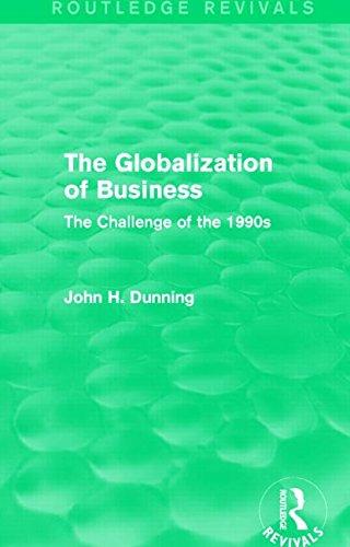 La globalización de los negocios (Routledge avivamientos): el desafío de la s 1990