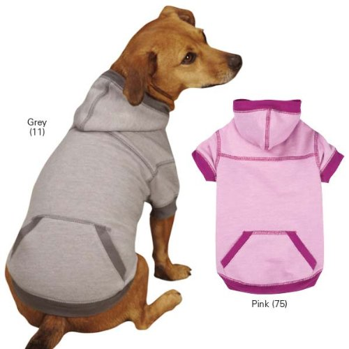 Zack & Zoey Chill-Ax Hoodie, Small/Medium, Silver