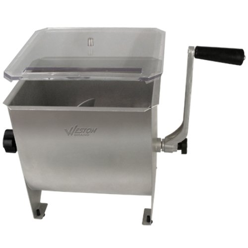Weston Products Meat Mixer 20lb Pro Series Stainless Steel 36-1901-W