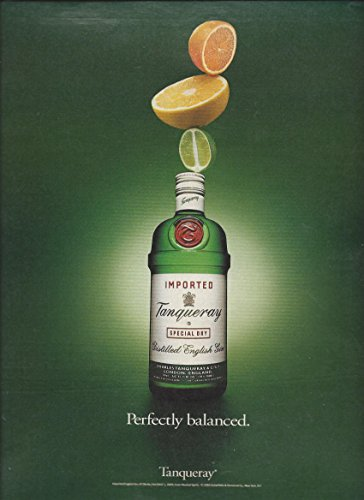 print-ad-for-tanqueray-gin-1993-perfectly-balanced-magazineprint-ad