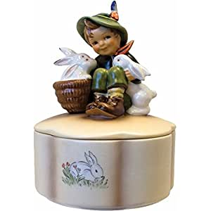 Amazon.com - M I Hummel 'Playmates Covered Box' Porcelain Collectible