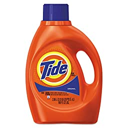 Tide Original Scent with ActiLift, 100.0-Ounce Bottles (Pack of 4)