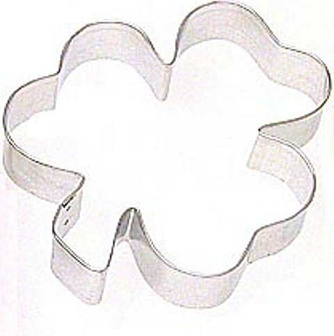 Irish Shamrock Cookie Cutter for St. Patrick's Day Cookies, Large 5 inch