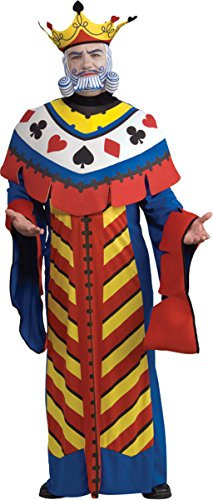Rubie's Costume Co Men's Playing Card King Costume, Standard