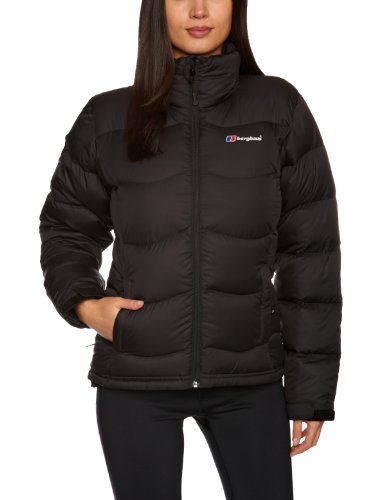 Berghaus Women's Akka Down Insulated Windproof Jacket - Black, Size 18