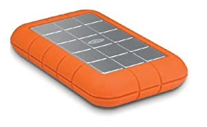 LaCie Rugged All-Terrain 500 GB FireWire 800/ FireWire 400/USB 2.0 Portable External Hard Drive 301371