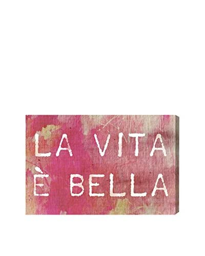 Oliver Gal Artist Co. Life Is Beautiful Rose Canvas Art