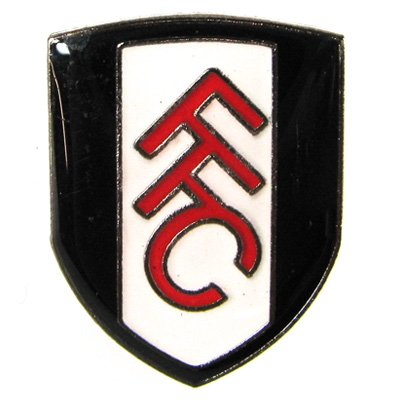Official Fulham FC Badge - A Great Christmas, Birthday, Valentine, Anniversary Gift For Husbands, Fathers, Sons, Boyfriends, Friends and Any Avid Fulham Football Club Fan Supporter