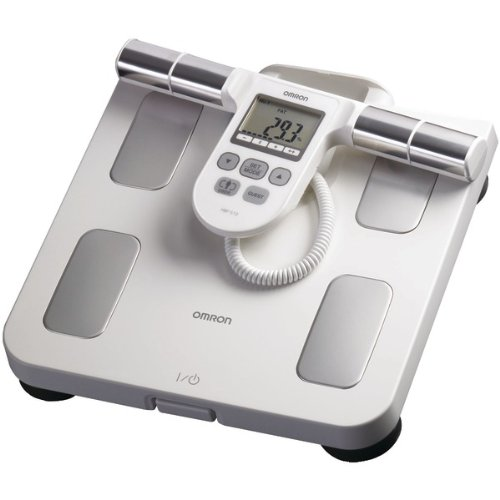 Cheap FULL-BODY SENSOR BODY COMPOSITION MONITOR & SCALE (WHITE) (Catalog Category: ELECTRONICS-OTHER / HOME & HEALTH ACCESSORIES) (ITE-OMRHBF510W-PTRIND|1)