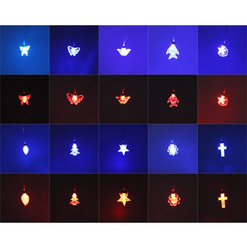 Coffled® Magnetic Led Necklace Light Charm Pendant Gift Xmas Dancing Birthday Party