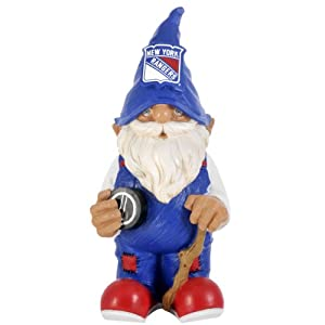 NHL New York Rangers Garden Gnome