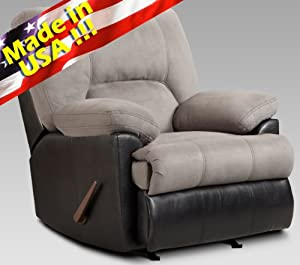 Affordable Roundhill Furniture Laredo 2 Tone Padded Suede ...