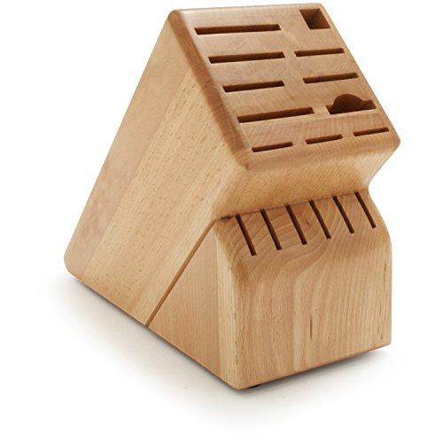 Sur La Table 17-Slot Knife Block 7267-1NL , Beech