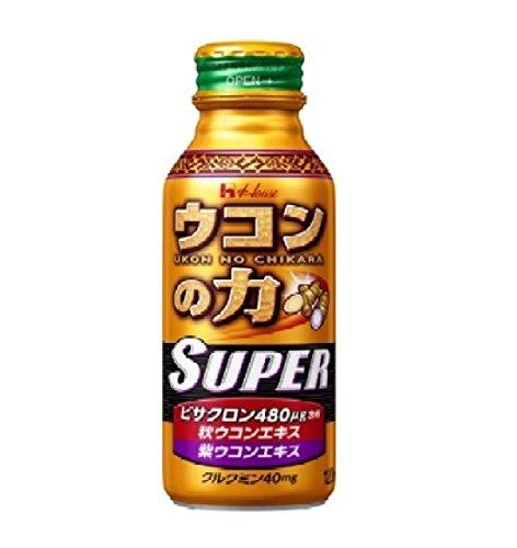 ハウスウェルネスフーズ ウコンの力スーパー 120mLx30本 (ケース販売)