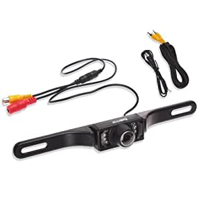 Koolertron Rear View License Plate Backup CMOS Camera
