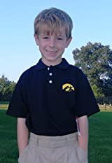 Iowa Hawkeyes Youth Polo Shirt