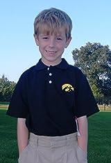 Iowa Hawkeyes Youth Polo Shirt