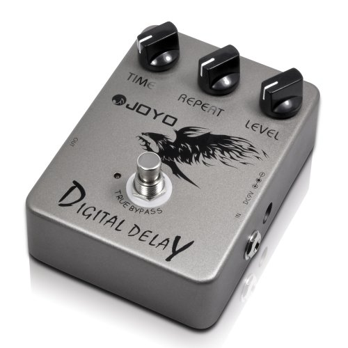 Joyo Jf-08 Digital Delay Effects Pedal With Quality Stompbox With Musical Features
