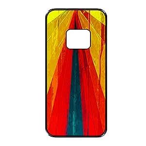 Vibhar printed case back cover for Samsung Galaxy Alpha ThreePattern