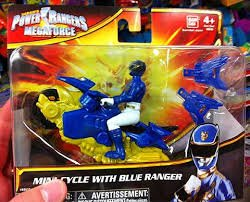 Power Rangers MegaForce Mini Cycle With Blue Ranger