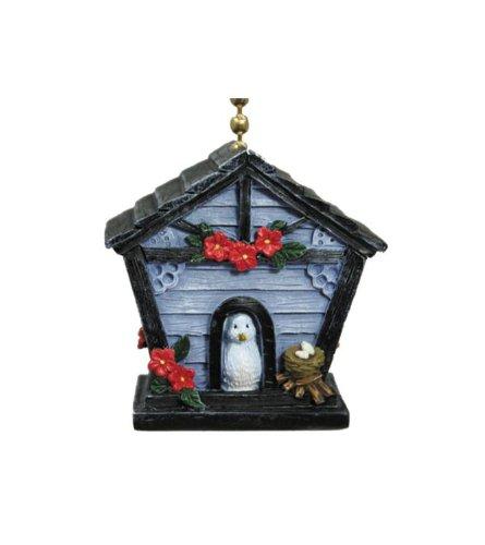 Little Blue Birdhouse With Bird Decorative Ceiling Fan ...