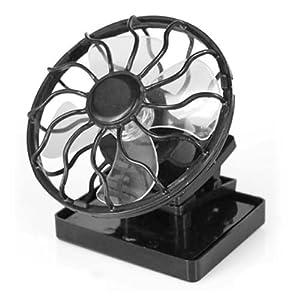 digiflex solar ventilator mit mini solarzelle klemme elektronik ventilatoren. Black Bedroom Furniture Sets. Home Design Ideas