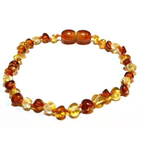 The Art of Cure Baltic Amber bracelet 5.5 Inch (1x1) - Anti-inflammatory