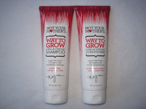 Not Your Mother'S Way To Grow Long & Strong 8 Oz Shampoo & 8 Oz Conditioner Set