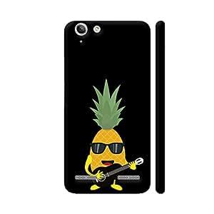 Colorpur Rock N Roll Pineapple Designer Mobile Phone Case Back Cover For Lenovo Vibe K5 / Vibe K5 Plus   Artist: Torben