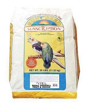 Cheap Bird Supplies Small Hookbill Vita Fruit/Veggie 25Lb (BSS10353)