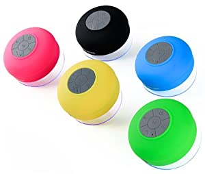 Splash Shower Tunes - Bluetooth Waterproof Speaker and Remote By FreshETech from TYSO USA