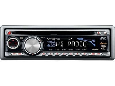 Jvc Kd-Hdr1 In-Dash Car Audio Cd/Mp3 Hd Tuner Stereo Receiver