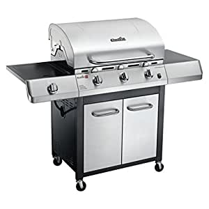 Char-Broil Performance TRU Infrared 480 3-Burner Gas Grill with Side Burner and Cabinet