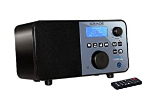 Grace Digital GDI-IR2550P Pandora Wi-Fi Internet Radio (Discontinued by Manufacturer)