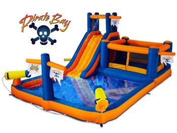 Blast Zone Pirate Bay Inflatable Combo Water Park and Bounce by Blast Zone