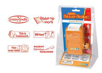 5 Pack EDUCATIONAL INSIGHTS SUPER 6 STAMP STATION TEACHER