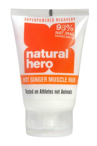 Natural Hero Hot Ginger Muscle Rub 100ml