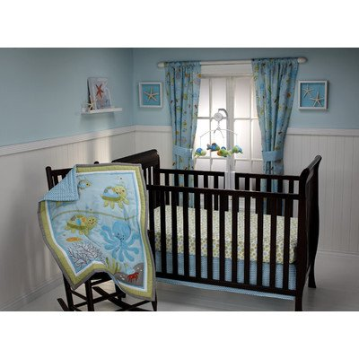 NoJo Little Bedding Ocean Dreams 3 Piece Crib Bedding Set image