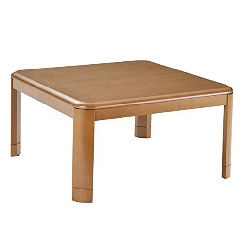 YAMAZEN Japanese Kotatsu (Warm Low Table) Brown MW-F80H NEW (Japanese Low Table compare prices)