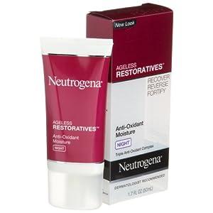 Neutrogena Ageless Restoratives Anti-Oxidant wetness evening Cream, 1.7 Ounce