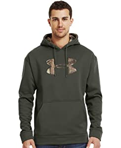 Under Armour Mens Armour® Fleece Tackle Twill Storm Hoodie by Under Armour