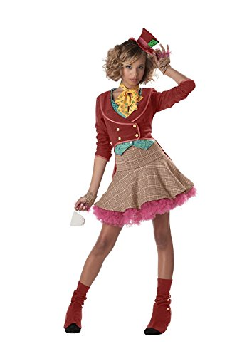 Teen/ (Plus Size Dark Mad Hatter Costume)