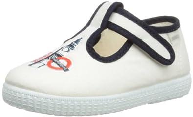 Cuquito Boys Loafers 92842 Blanco 6 UK Child, 23 EU