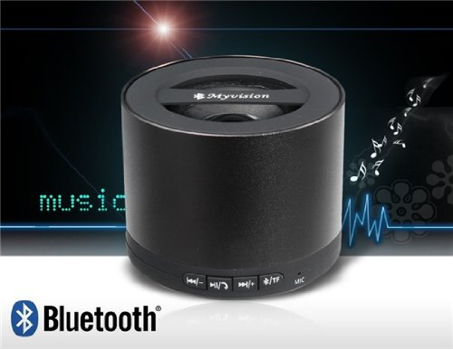 My Vision N9 Mini Wireless Stereo Bluetooth Speaker With Card Reader (Black)